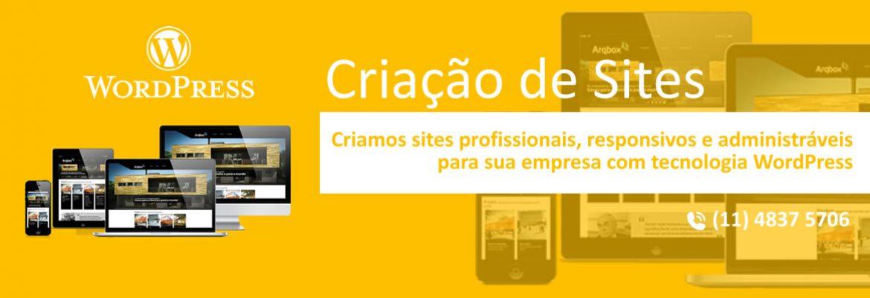 Criação de Sites Responsivos e administráveis